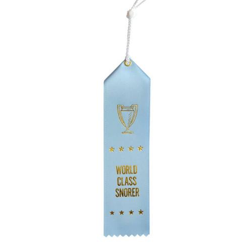 World Class Snorer Ribbon