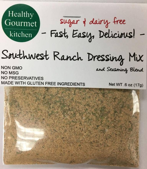 Healthy Gourmet Southwest Ranch Dip