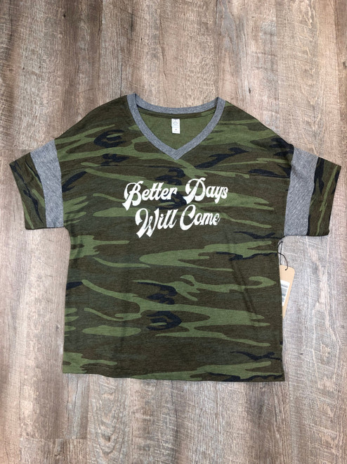 Better Days V-neck