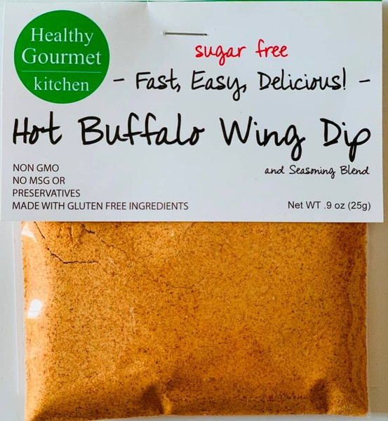 Healthy Gourmet Hot Buffalo Dip