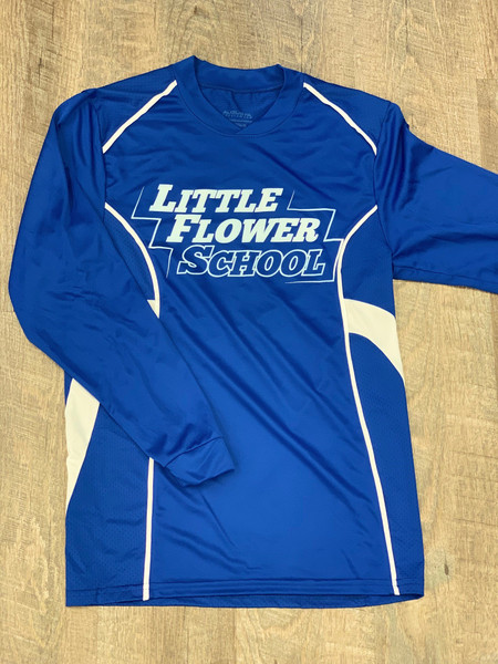Little Flower Youth Athletic Shirt