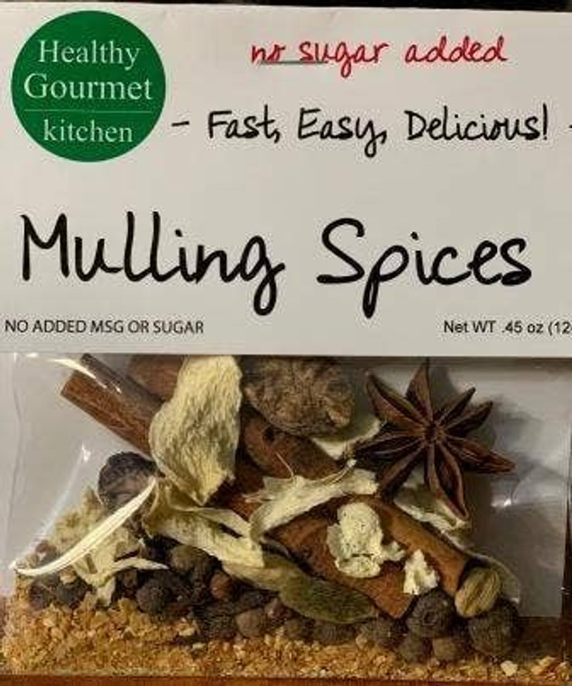 Healthy Gourmet Mulling Spices