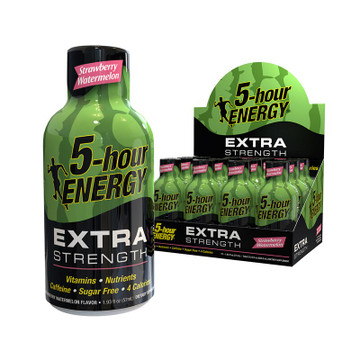 Strawberry Watermelon Extra Strength 5-hour ENERGY® 12-Pack