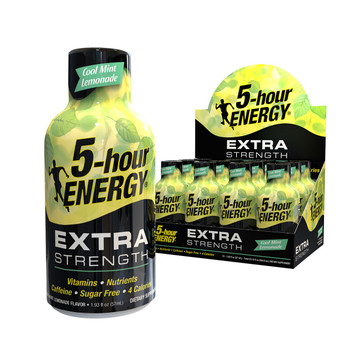 Cool Mint Lemonade Extra Strength 5-hour ENERGY® 12-Pack