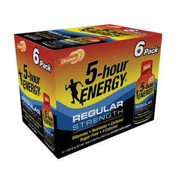 Orange Regular Strength 5-hour ENERGY® 6-Pack