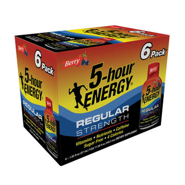 Berry Regular Strength 5-hour ENERGY®  6-Pack