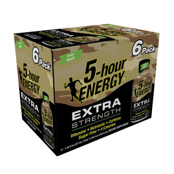 Sour Apple Extra Strength 5-hour ENERGY® 6-Pack