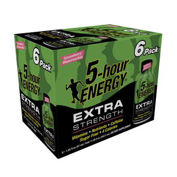 Strawberry Watermelon Extra Strength 5-hour ENERGY® 6-Pack
