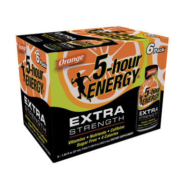 Orange Extra Strength 5-hour ENERGY® 6-Pack