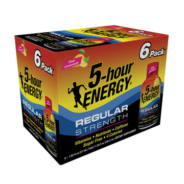 Pink Lemonade Flavor Regular Strength 5-hour ENERGY® 6-Pack