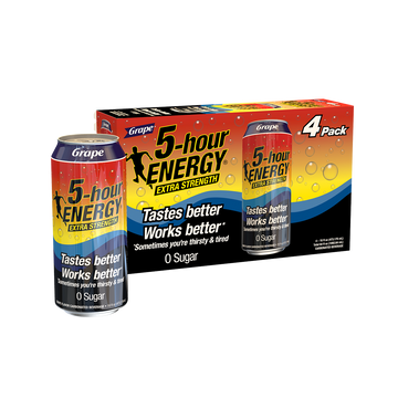 Grape flavored Extra Strength 5-hour ENERGY® Drink
