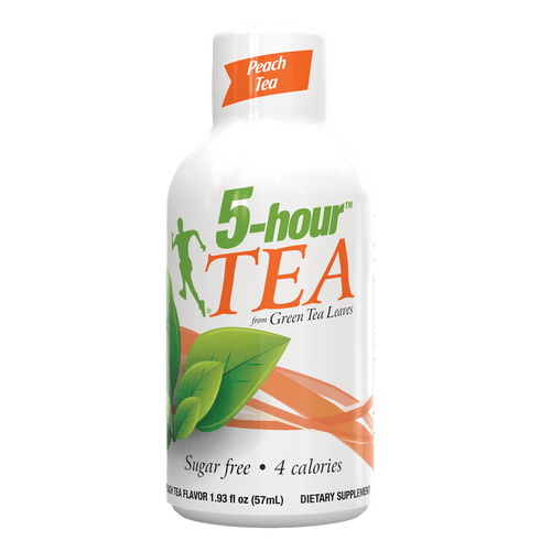 5-hour™ TEA shot - Peach flavored energy shot