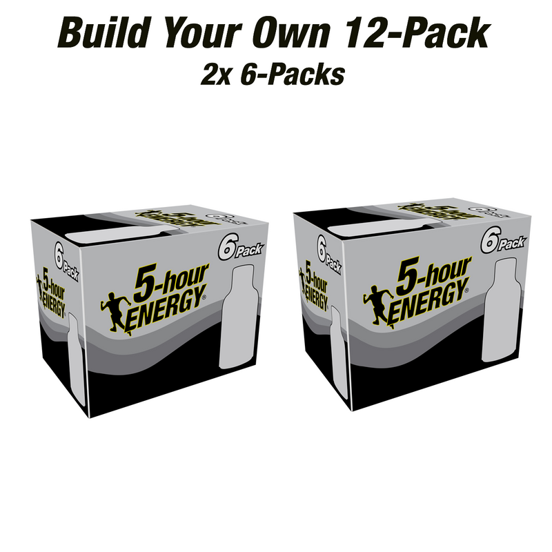 Build Your Own 12-pack with two different 6-pack flavors