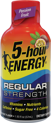 Passion Fruit Flavor 5-hour ENERGY® Shot