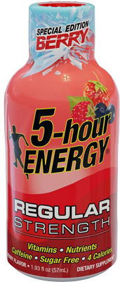 Special Edition Berry Flavor 5-hour  ENERGY® shot