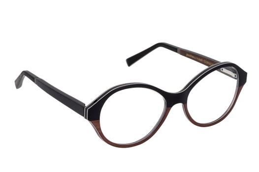 ALEXIA 01, Gold & Wood glasses, luxury, opthalmic eyeglasses