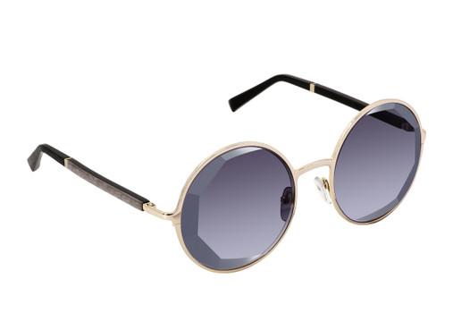 VANESSA AZAR 01 SUN, Gold & Wood glasses, luxury, opthalmic eyeglasses