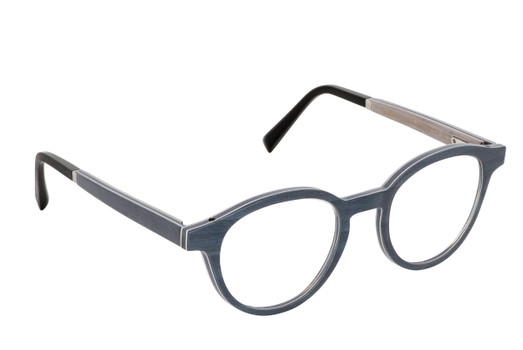 NAOS 01, Gold & Wood glasses, luxury, opthalmic eyeglasses