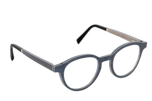 NAOS 01, Gold & Wood glasses, luxury, opthalmic eyeglasses