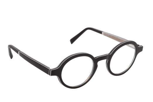 ZAO 01, Gold & Wood glasses, luxury, opthalmic eyeglasses