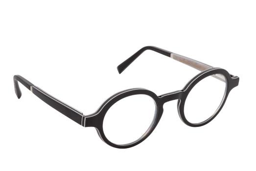 ZAO 01, Gold & Wood glasses, luxury, opthalmic eyeglasses