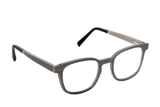 PULSAR 01, Gold & Wood glasses, luxury, opthalmic eyeglasses