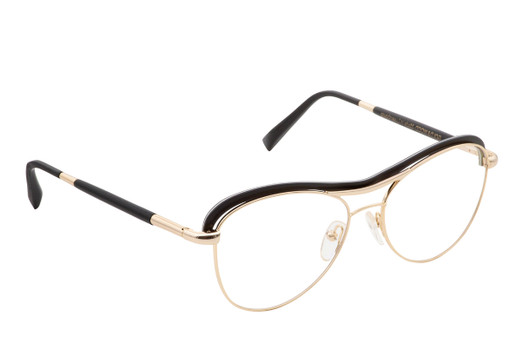 STELA 01, Gold & Wood glasses, luxury, opthalmic eyeglasses