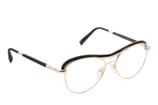 STELA 01, Gold & Wood glasses, luxury, opthalmic eyeglasses
