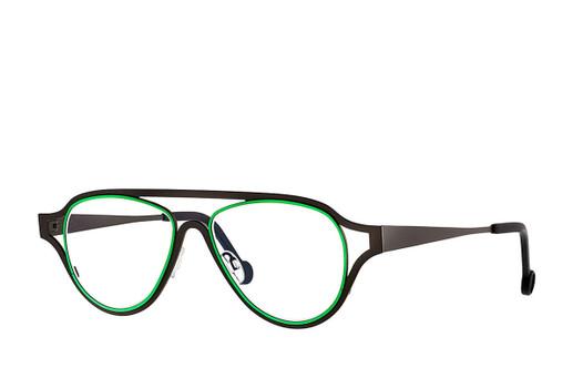Theo Coconut Cream, Theo Designer Eyewear, elite eyewear, fashionable glasses