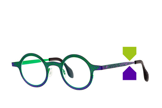 Theo Mille+64, Theo Designer Eyewear, elite eyewear, fashionable glasses