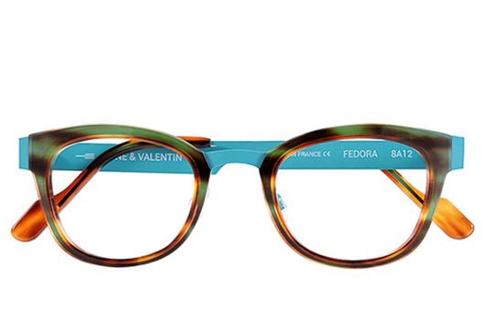 Anne et Valentin Fedora, Anne et Valentin Designer Eyewear, elite eyewear, fashionable glasses