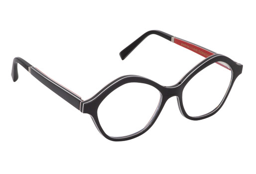 CARLA 01, Gold & Wood glasses, luxury, opthalmic eyeglasses