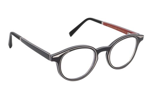 RAN 01, Gold & Wood glasses, luxury, opthalmic eyeglasses
