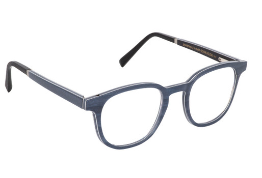 OGMA 01, Gold & Wood glasses, luxury, opthalmic eyeglasses