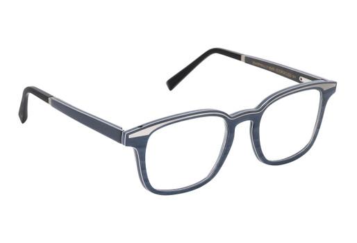 QUASAR 01, Gold & Wood glasses, luxury, opthalmic eyeglasses