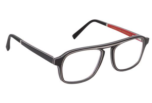 ERIS 01, Gold & Wood glasses, luxury, opthalmic eyeglasses
