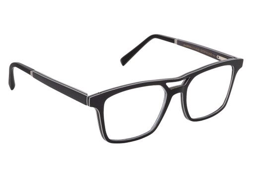 ARION 01, Gold & Wood glasses, luxury, opthalmic eyeglasses
