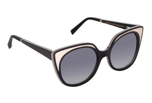 LUISA 01 SUN, Gold & Wood glasses, luxury, opthalmic eyeglasses