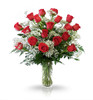 Classic 18 Red Rose Arrangement by Winnipeg Florist, Dragonfly Flowers