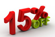 Beat the Summer Heat with 15% Off Store Wide!