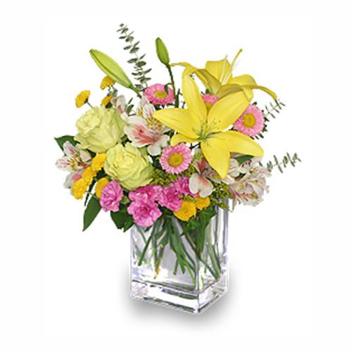 FLORAL FRESHNESS Spring Flowers