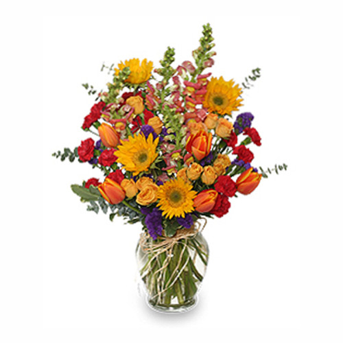 FALL TREASURES Flower Arrangement