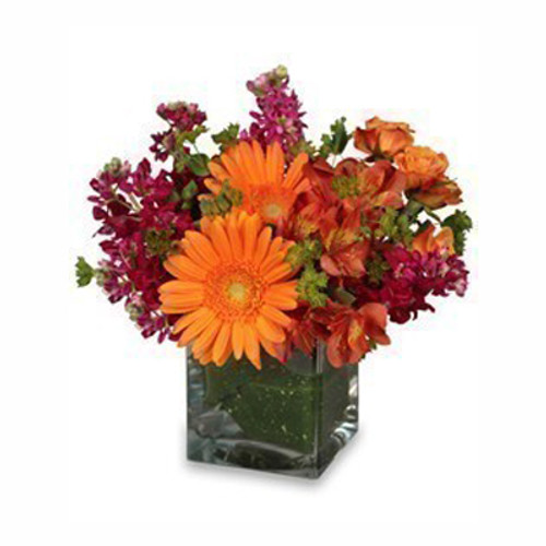 Floral Touch Of Fall