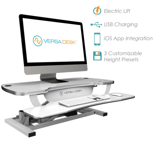 VersaDesk Power Pro® Elite Standing Desk Convertor