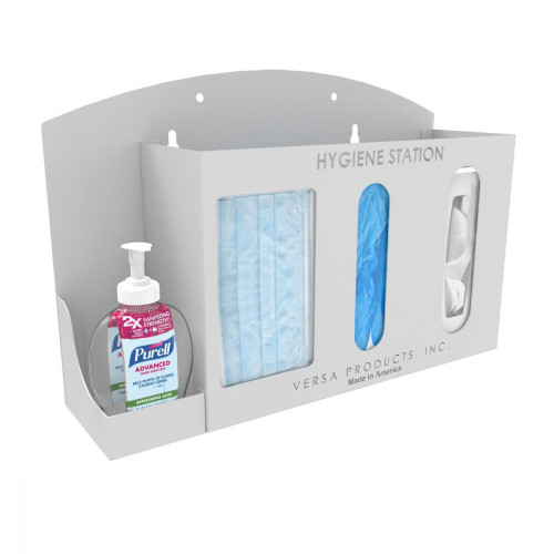 PPE - Wall Mount Hygiene Station - Heavy Duty