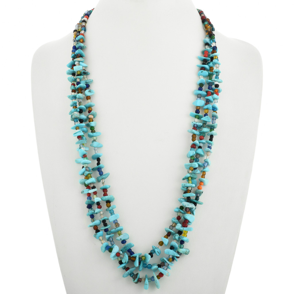 PHOENIX Pendant Necklace Jewelry Native American Indian Style Handmade Beads