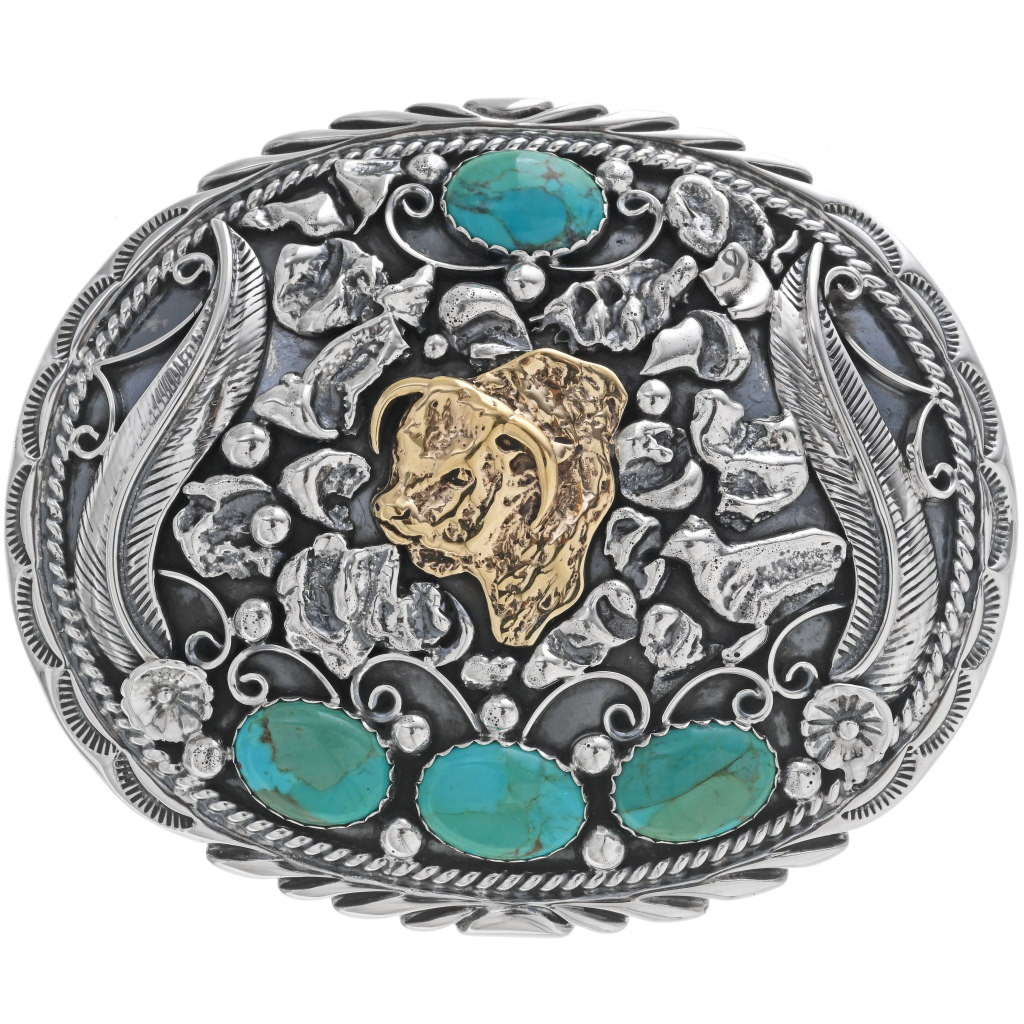 New Indian NATIVE AMERICAN BELT Buckle MEN WOMEN COWBOY SILVER HIGH QUALITY Bul