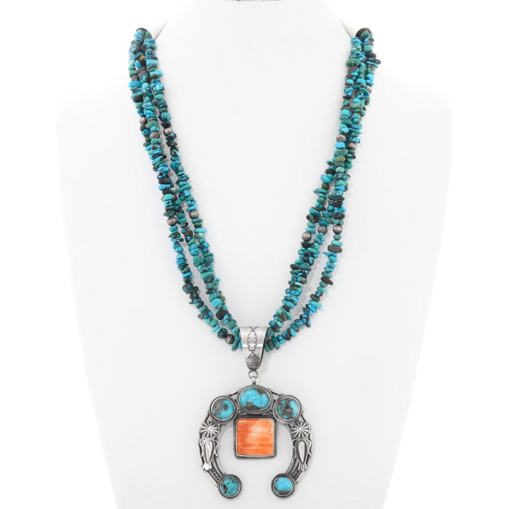 Vintage Handmade Navajo Silver Neck Wire Necklace Phoenix Arizona Southwest Style Hallmarked