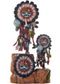Hopi Sunface Kachina Dolls 21031