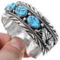 Native American Turquoise Cuff Bracelet 24721